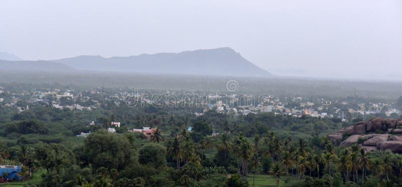 Destination de touristes de ville de Vellore en Inde photographie stock