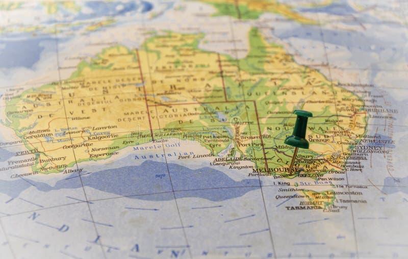 Destination : Melbourne image stock