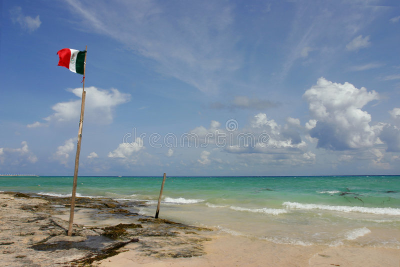 Download Destination Mexico stock image. Image of blue, flying, sand - 280803