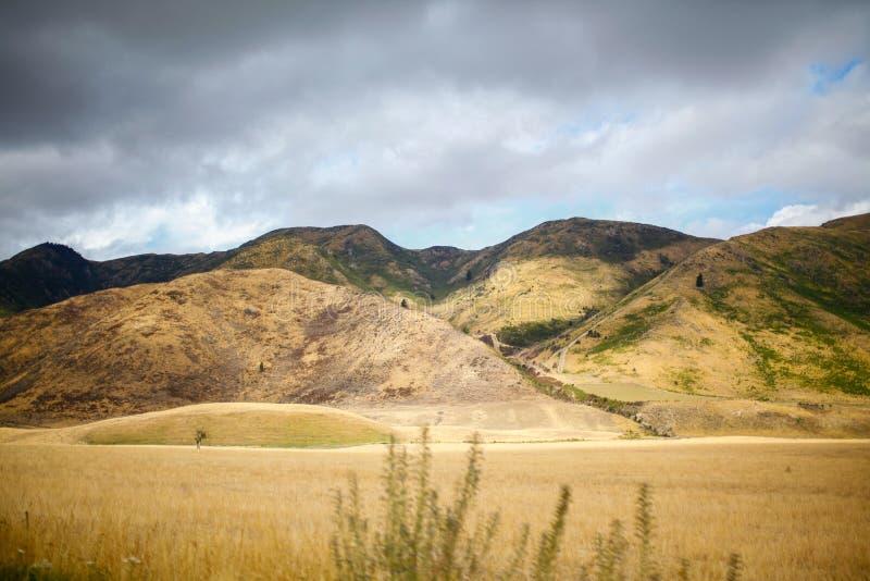 Destination Nouvelle-Zélande photographie stock libre de droits