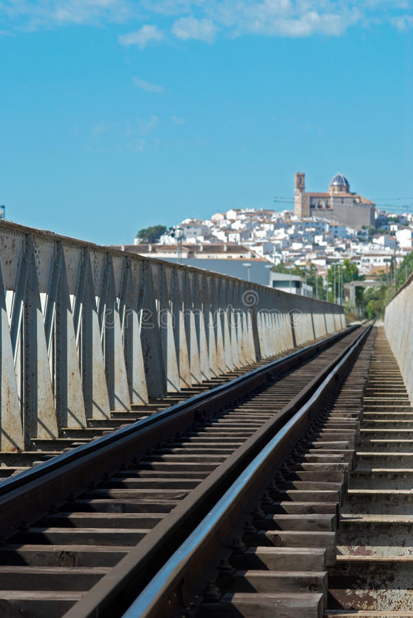 Download Destination old town stock photo. Image of railway, rail - 16863224