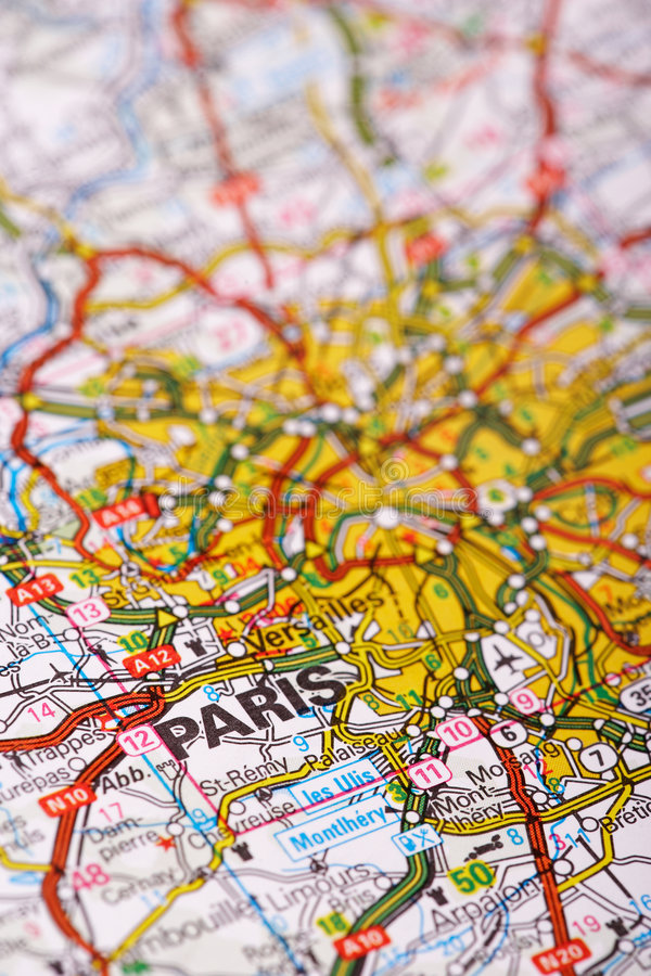 Destination: Paris Royalty Free Stock Images