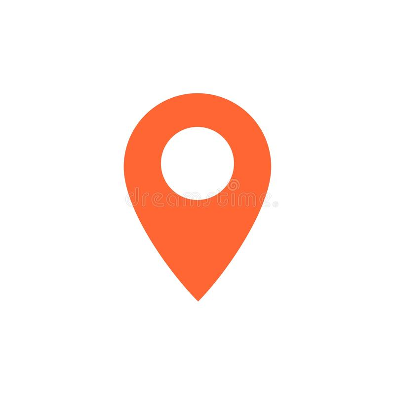 Free Destination Vector Icon. Map Pointer Icon. Vector Illustration For Web Design And Mobile App Stock Photo - 151519020