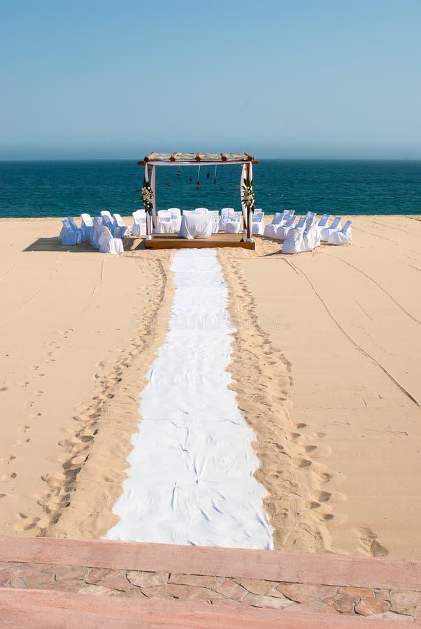 destinationsbröllop royaltyfria bilder