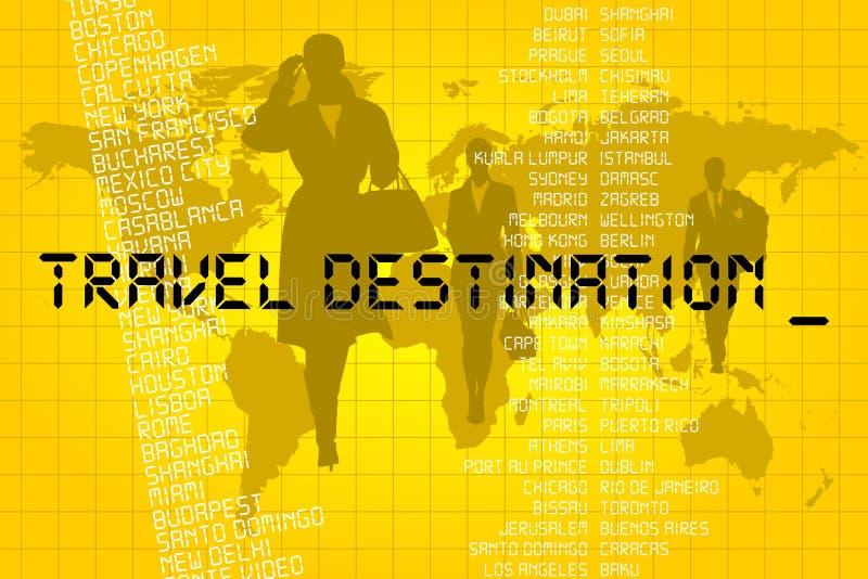 Destinazione Di Viaggio Immagine Stock