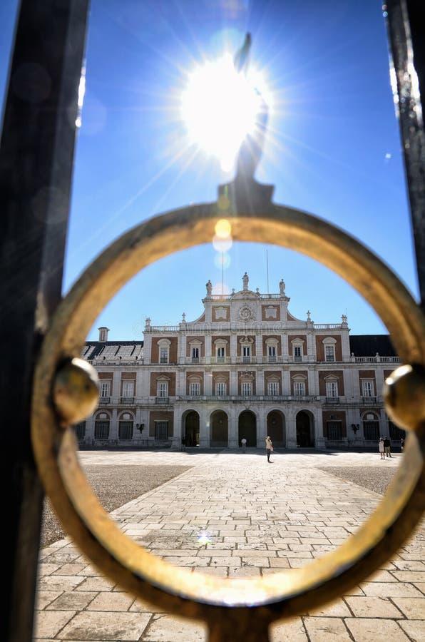 Destinazione spagnola, Aranjuez Città reale storica fotografia stock