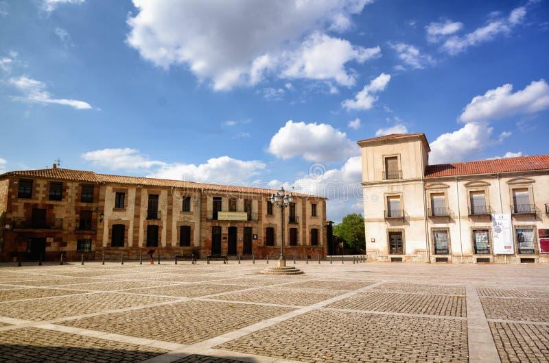 Destinazione spagnola, Medinaceli, città storica fotografie stock libere da diritti