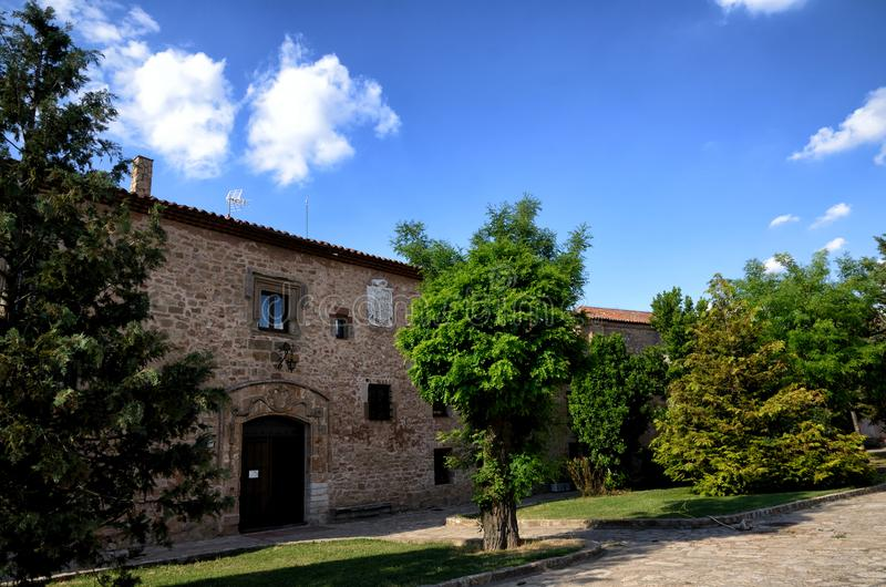 Destinazione spagnola, Medinaceli, città storica immagini stock