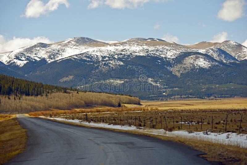 Destino Colorado imagen de archivo libre de regalías