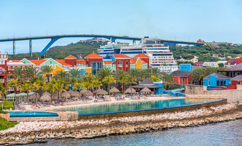 Destino de Curaçao fotografía de archivo