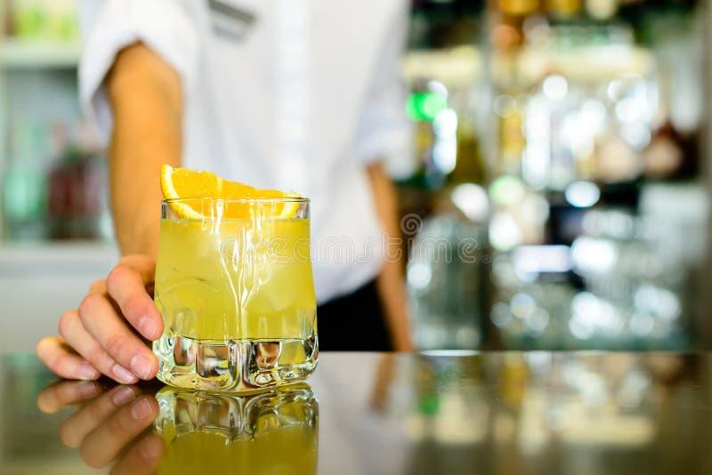 Destornillador, cóctel alcohólico fuerte foto de archivo
