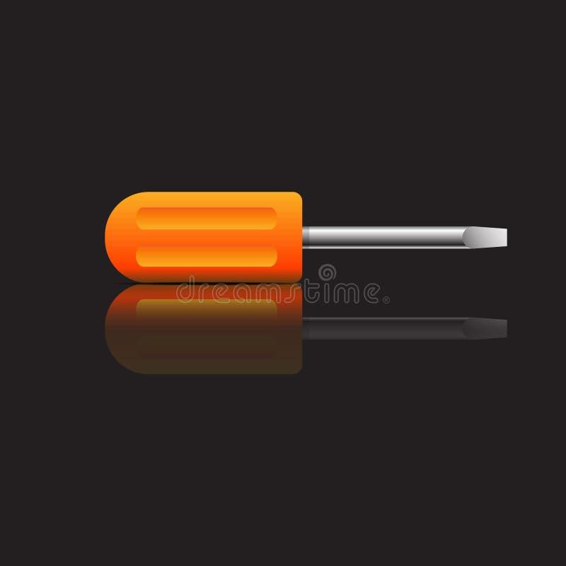 Destornillador/mecánico Tool imagen de archivo