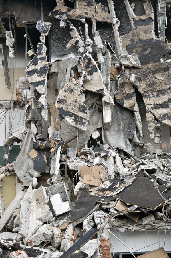 Free Destroyed Building, Debris. Series Royalty Free Stock Photo - 10418955