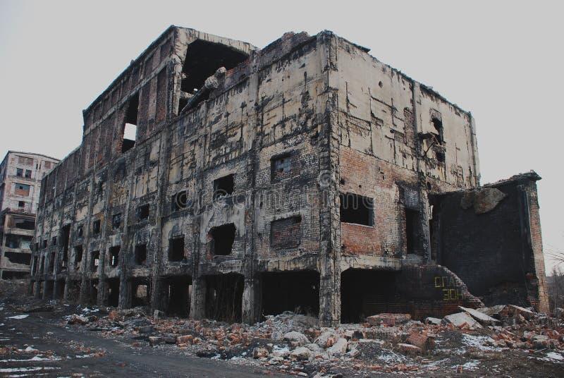 Destruction photographie stock libre de droits