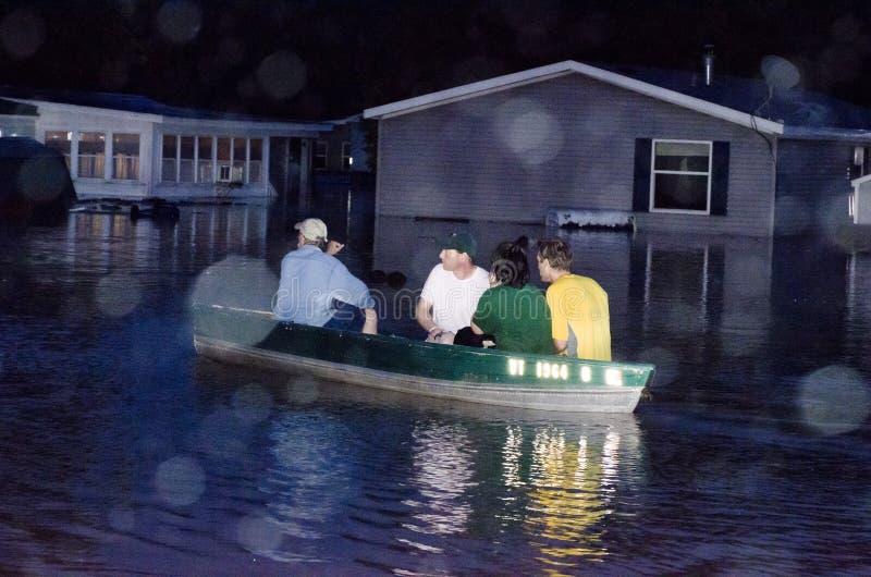Download Destruction In Berlin Vermont: Hurricane Irene Editorial Stock Image - Image: 20984469