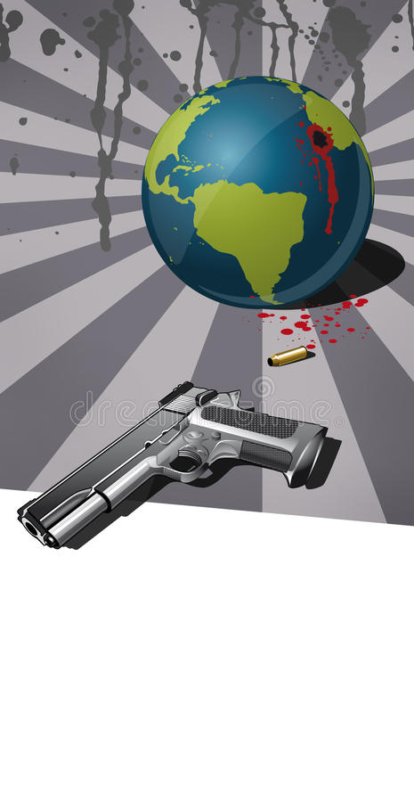 Download The Destruction Of The Earth Stock Illustration - Image: 10212616