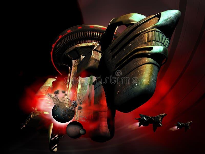 Destructor del planeta libre illustration
