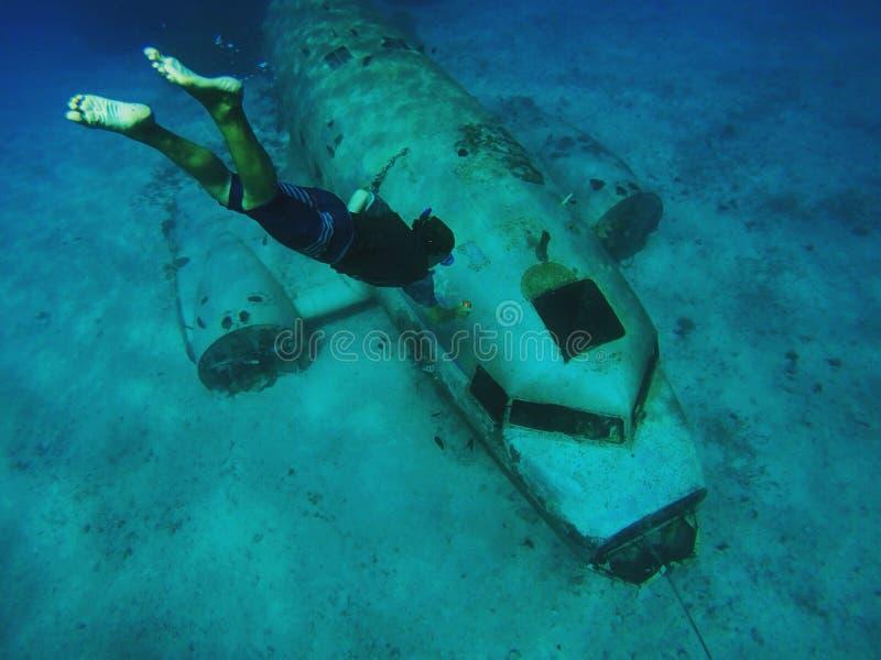 Destruição DC-3 fotos de stock
