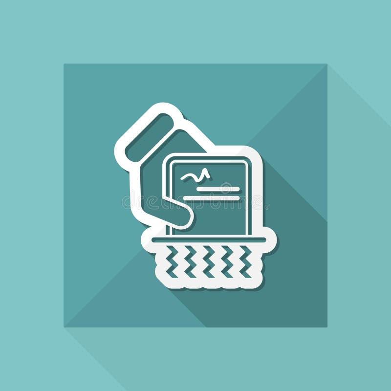 Destruya los documentos oficiales stock de ilustración