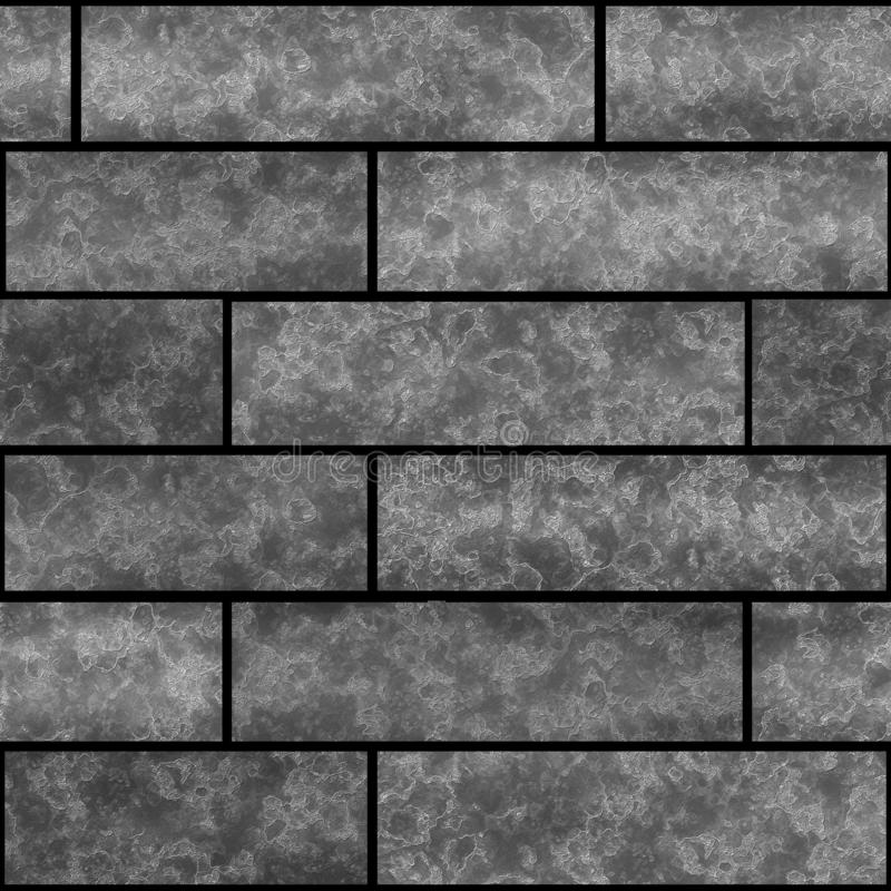 Desván de piedra del modelo de la textura inconsútil de la pared de ladrillo imágenes de archivo libres de regalías