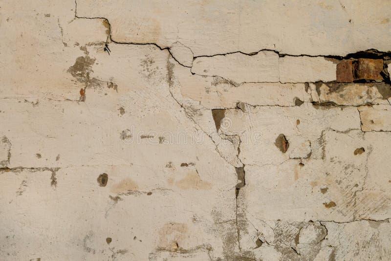 Desván quebrado ligero viejo de la textura de la decoración del modelo de la pared de ladrillos interior o exterior imagen de archivo libre de regalías