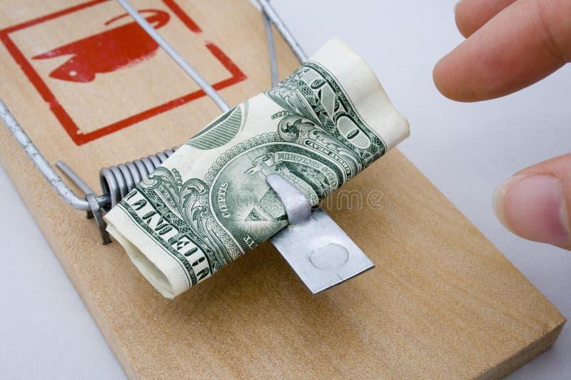 Desvío del dinero - dólar americano imágenes de archivo libres de regalías