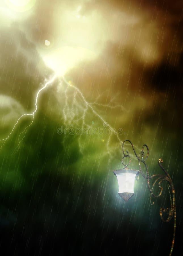 deszcz royalty ilustracja
