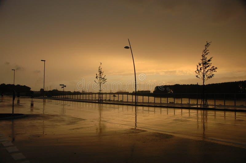 ' deszcz obraz stock