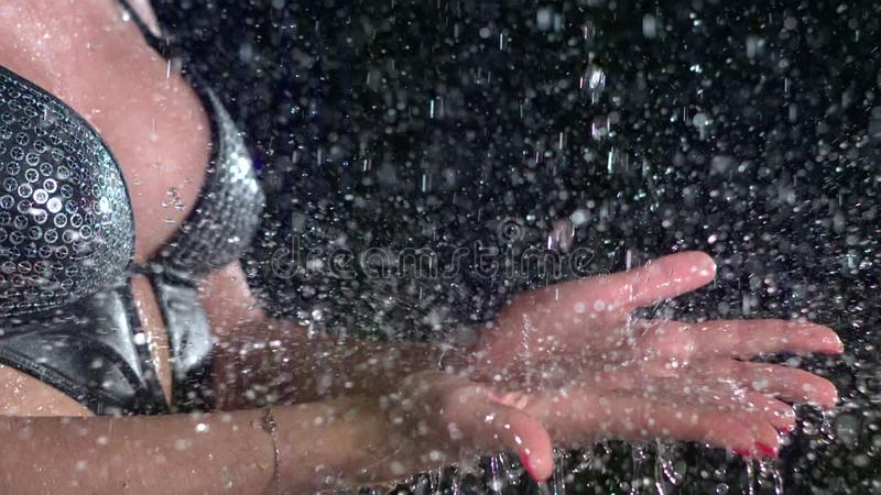 Deszcz zbiory wideo