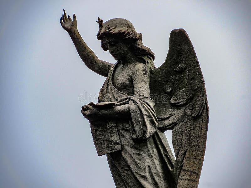 Deszczowy dzień przy Recoleta cmentarzem w Buenos Aires, Argentyna zdjęcia stock