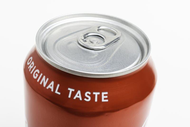 Det bästa locket av cola kan arkivfoto