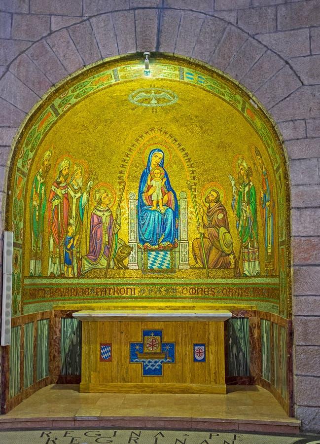Det bayerska altaret royaltyfria foton