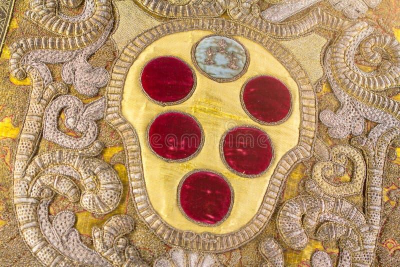 Det berömda emblemet av Medici royaltyfri foto