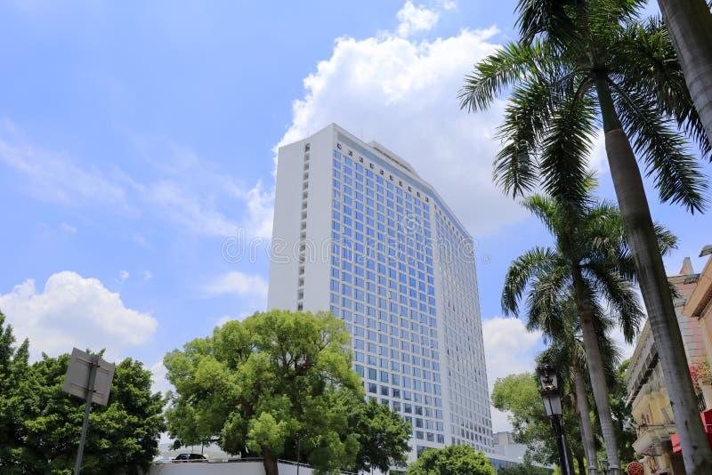 Det berömda hotellet för baitiane (den vita svanen) royaltyfria foton