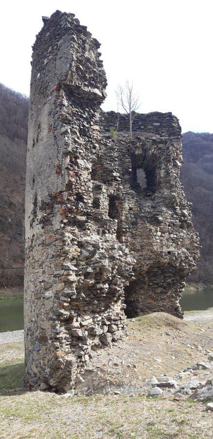 Det brutna tornet royaltyfria bilder