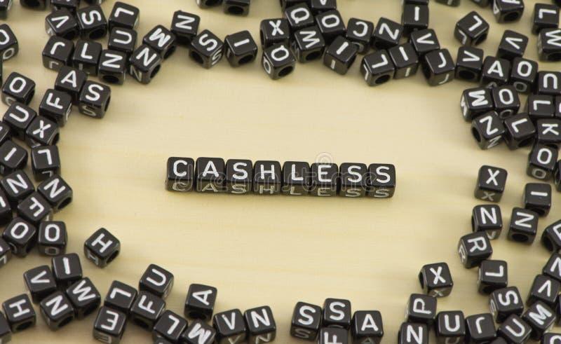 Det cashless arkivbilder