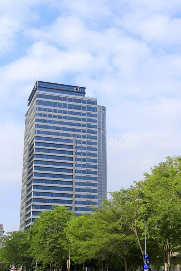 Det citigroup tornet är en modern byggnad arkivfoto