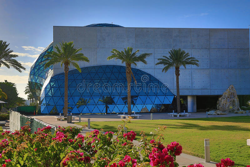 Det Dali museet arkivbild