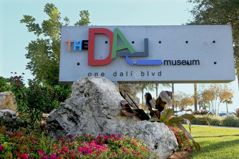 Det Dali museet fotografering för bildbyråer