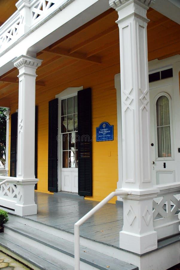 Det Dorr huset Pensacola Florida royaltyfri fotografi