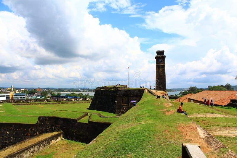 Det Galle fortet royaltyfri fotografi