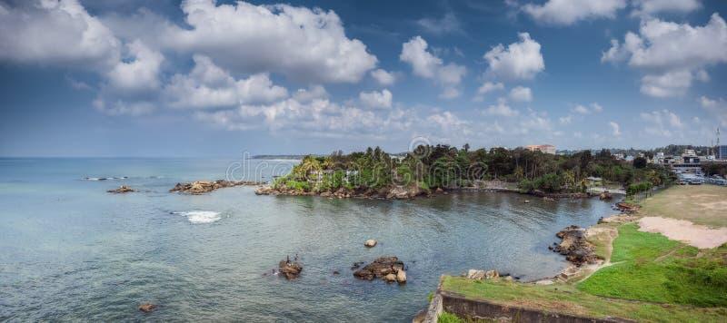 Det Galle fortet, Dutchs har konstruerat ett fort som och är nu ett arkivfoto