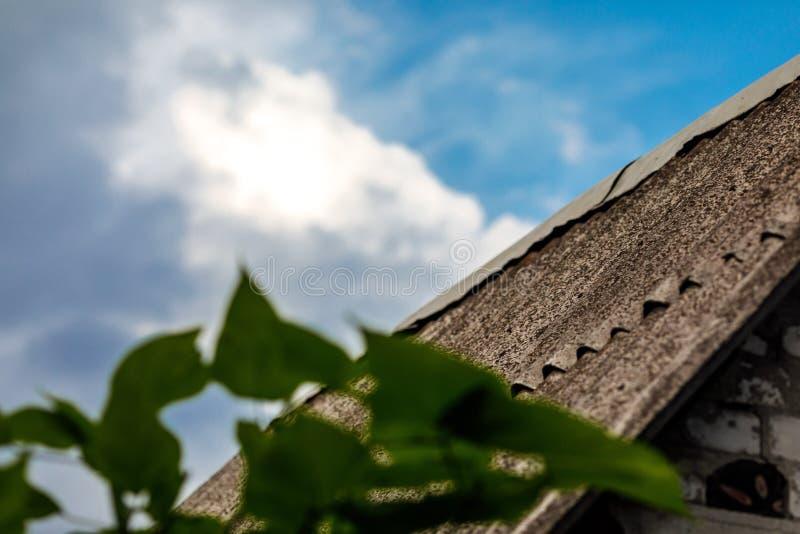 det gammala taket kritiserar royaltyfria foton