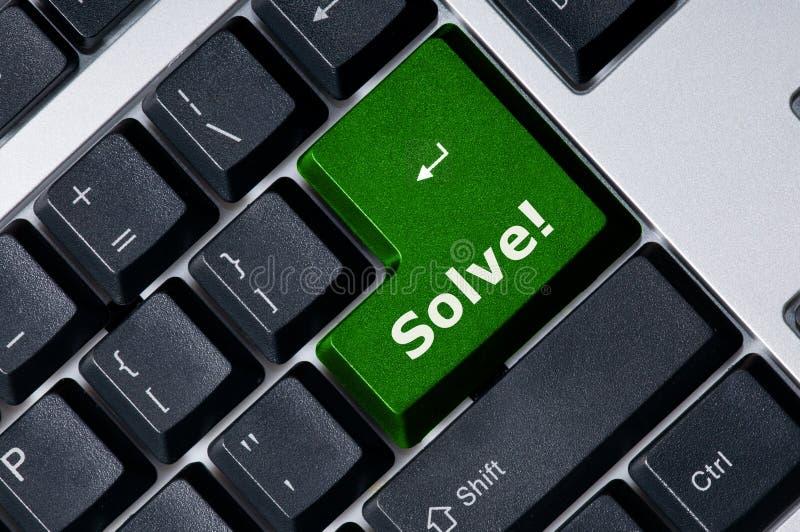 det gröna key tangentbordet löser fotografering för bildbyråer