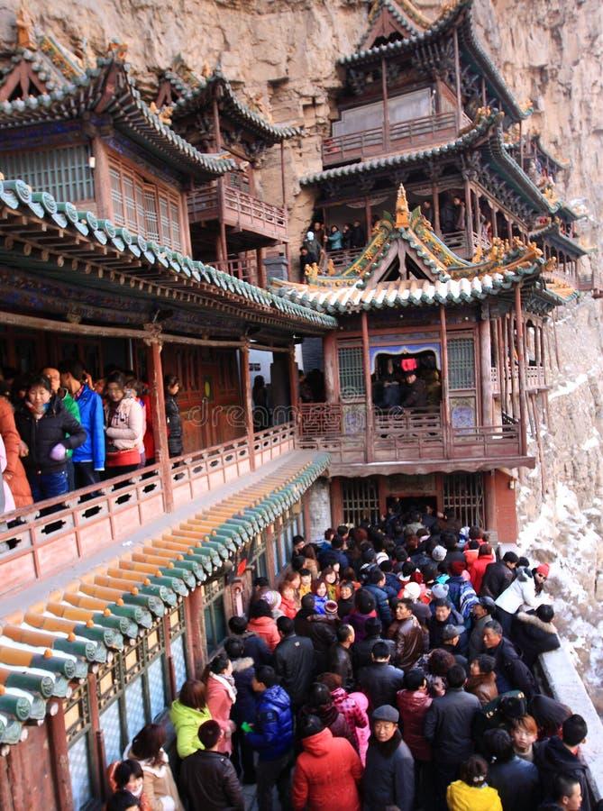 Det hängande tempelet royaltyfria foton