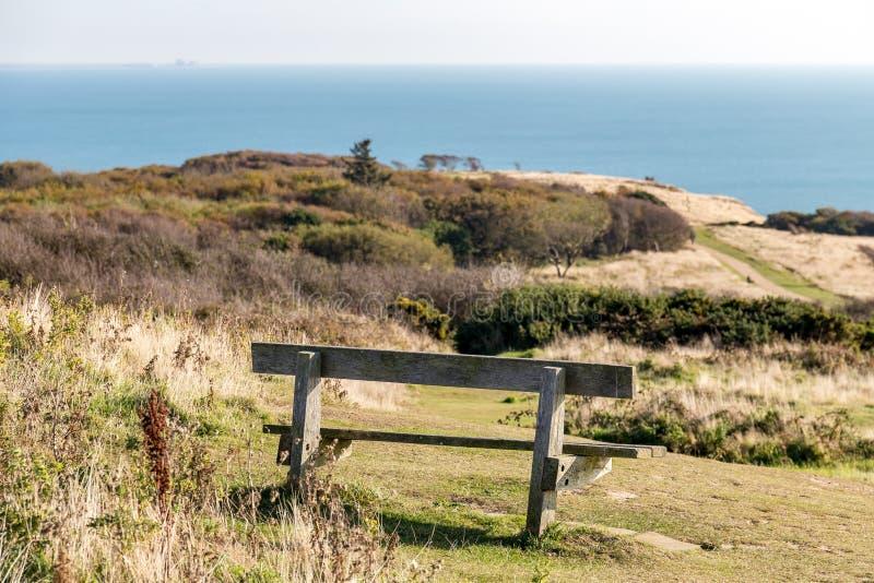 Det Hastings landet parkerar, östliga Sussex, UK arkivfoto