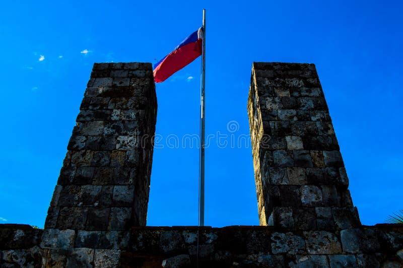 Det historiska fortet San Pedro, Cebu, Filippinerna royaltyfri fotografi