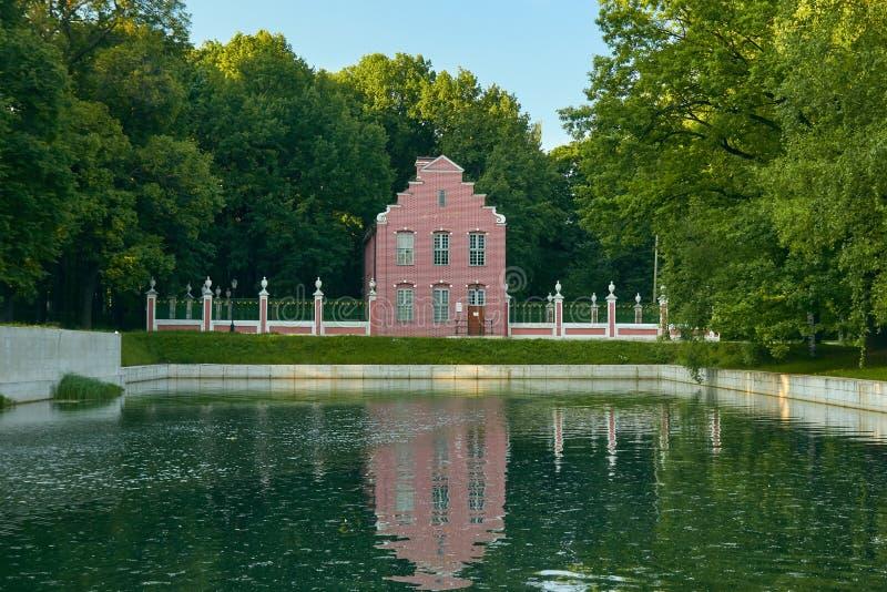 Det holländska huset i det Kuskovo godset arkivfoton