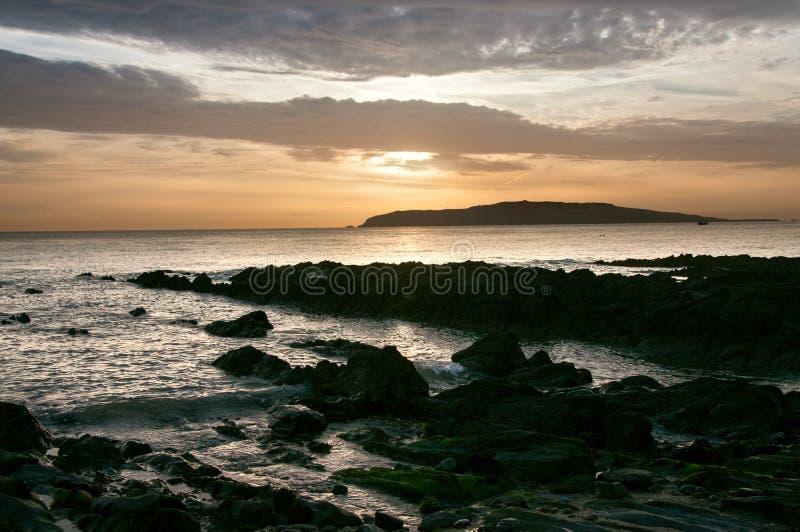 Det irländska landskapet royaltyfri bild