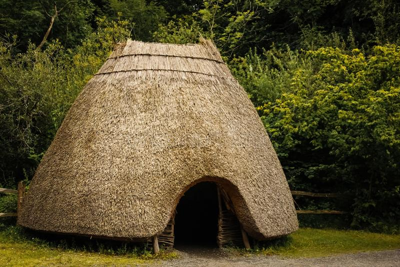 Det irländska nationella arvet parkerar Wexford ireland royaltyfri bild